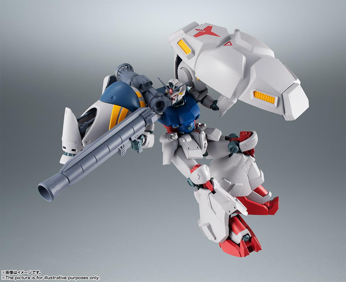【再販】ROBOT魂〈SIDE MS〉『RX-78GP02A ガンダム試作2号機 ver. A.N.I.M.E.』機動戦士ガンダム0083 可動フィギュア-004
