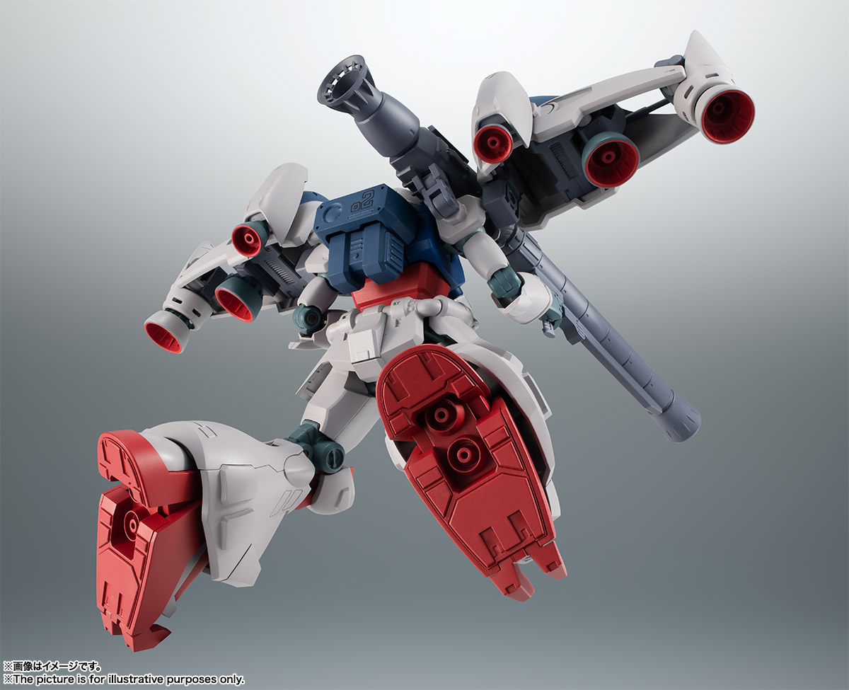 【再販】ROBOT魂〈SIDE MS〉『RX-78GP02A ガンダム試作2号機 ver. A.N.I.M.E.』機動戦士ガンダム0083 可動フィギュア-006