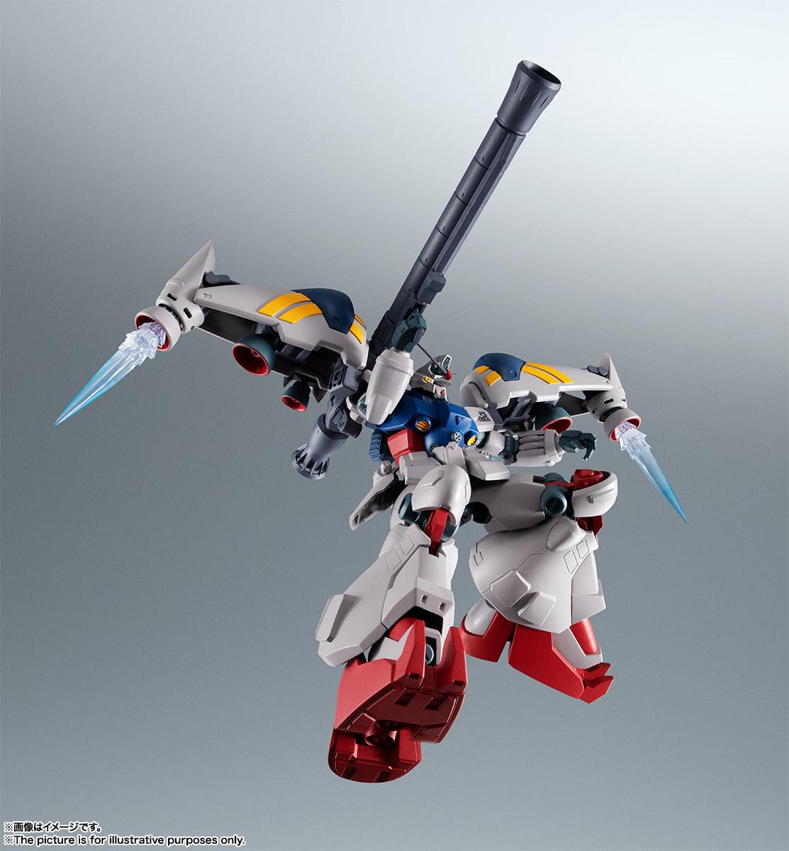【再販】ROBOT魂〈SIDE MS〉『RX-78GP02A ガンダム試作2号機 ver. A.N.I.M.E.』機動戦士ガンダム0083 可動フィギュア-007