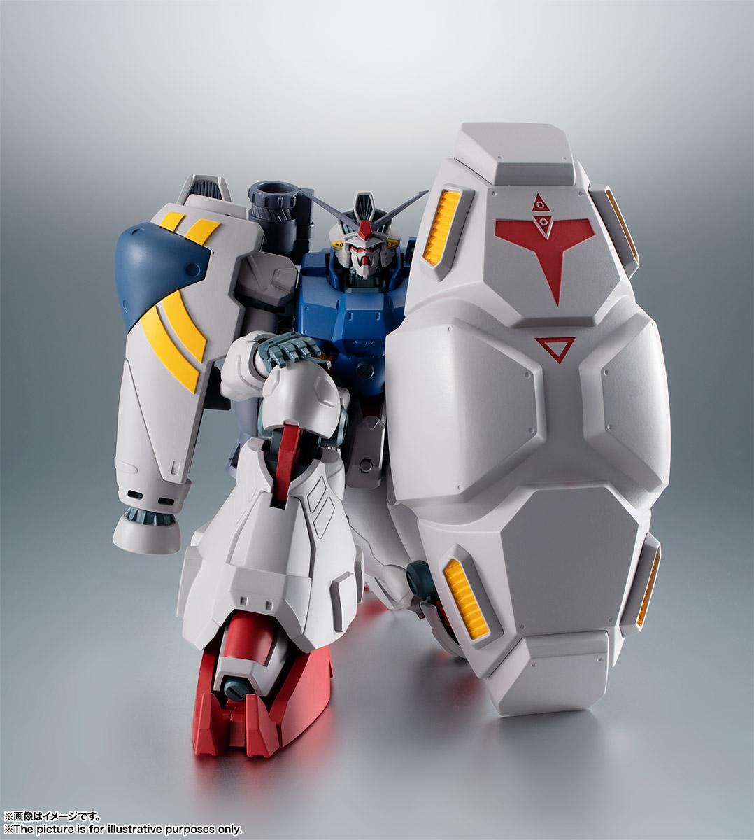 【再販】ROBOT魂〈SIDE MS〉『RX-78GP02A ガンダム試作2号機 ver. A.N.I.M.E.』機動戦士ガンダム0083 可動フィギュア-008