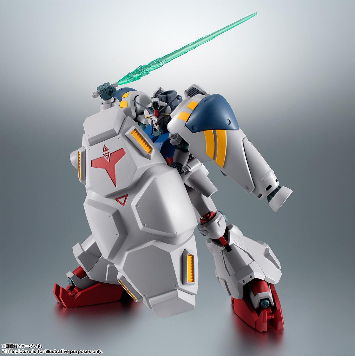 【再販】ROBOT魂〈SIDE MS〉『RX-78GP02A ガンダム試作2号機 ver. A.N.I.M.E.』機動戦士ガンダム0083 可動フィギュア-009