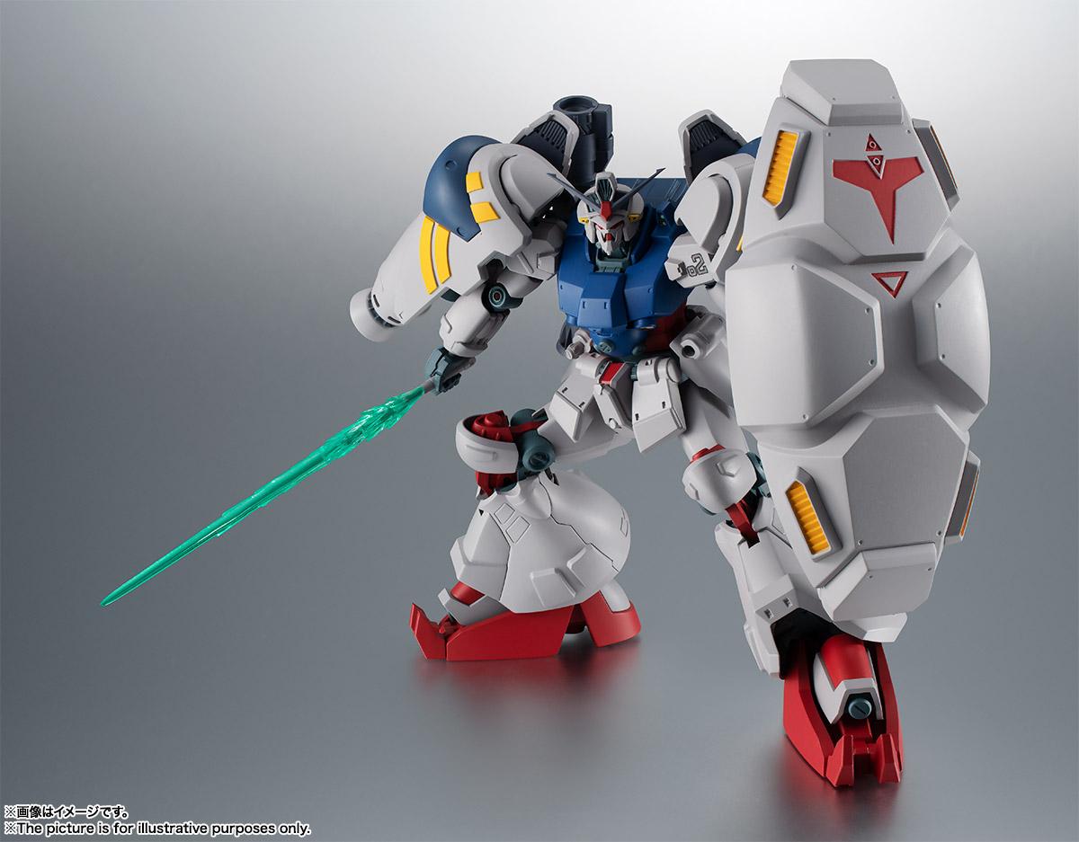 【再販】ROBOT魂〈SIDE MS〉『RX-78GP02A ガンダム試作2号機 ver. A.N.I.M.E.』機動戦士ガンダム0083 可動フィギュア-010