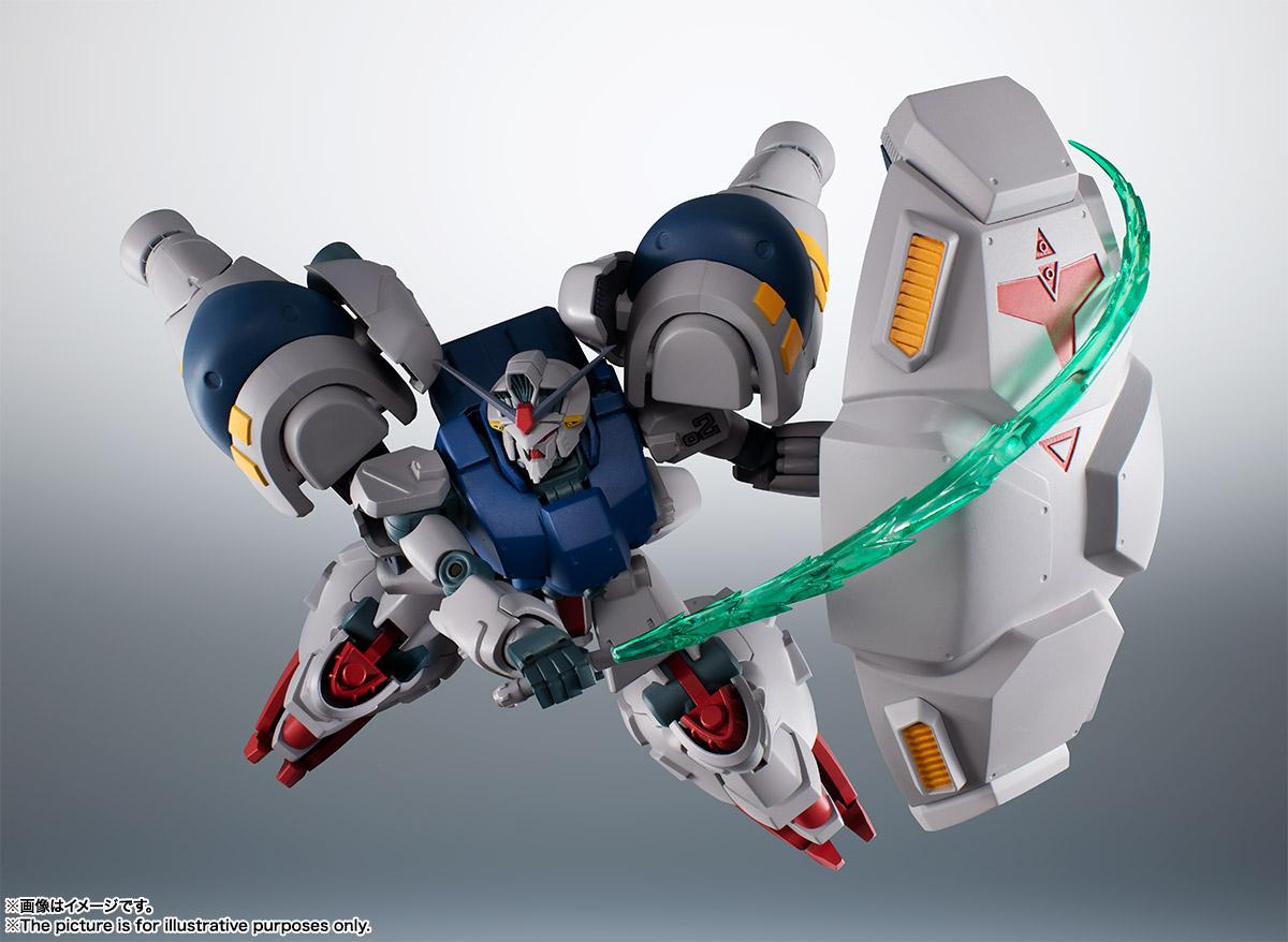 【再販】ROBOT魂〈SIDE MS〉『RX-78GP02A ガンダム試作2号機 ver. A.N.I.M.E.』機動戦士ガンダム0083 可動フィギュア-011