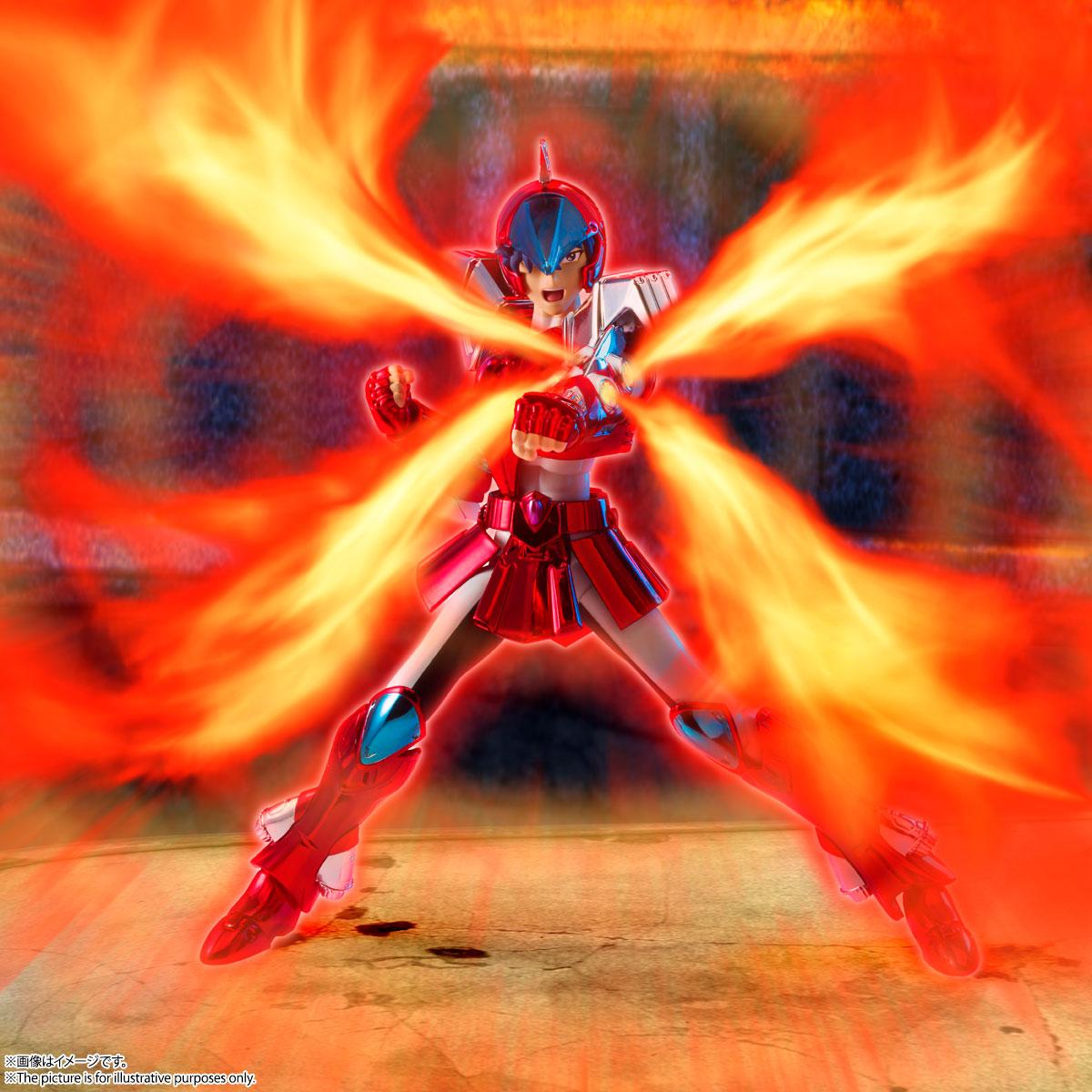 聖闘士聖衣神話『鋼鉄聖闘士スカイクロス翔〈リバイバル版〉』聖闘士星矢 可動フィギュア-009