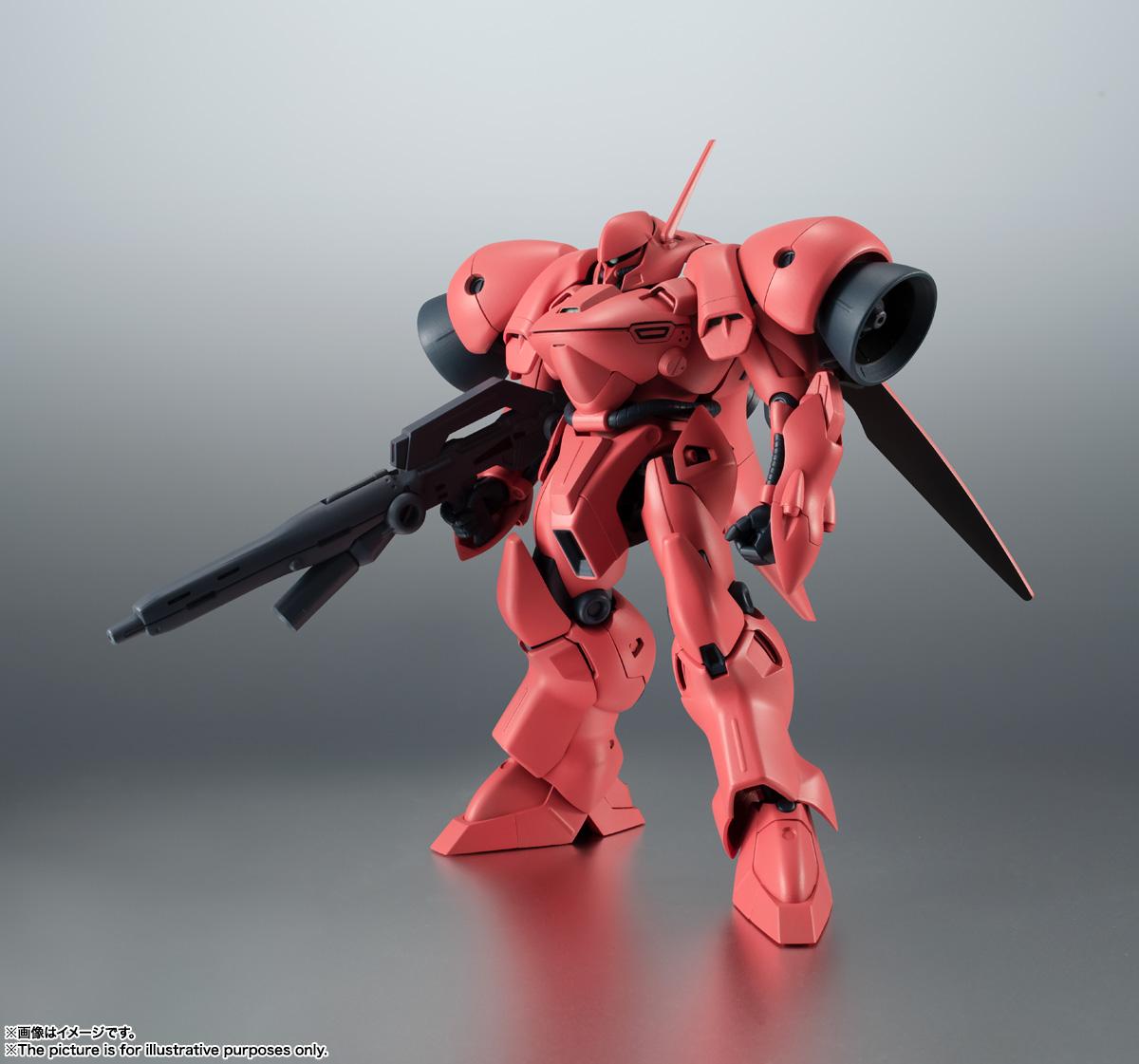 ROBOT魂〈SIDE MS〉『AGX-04 ガーベラ・テトラ ver. A.N.I.M.E.』機動戦士ガンダム0083 可動フィギュア-001
