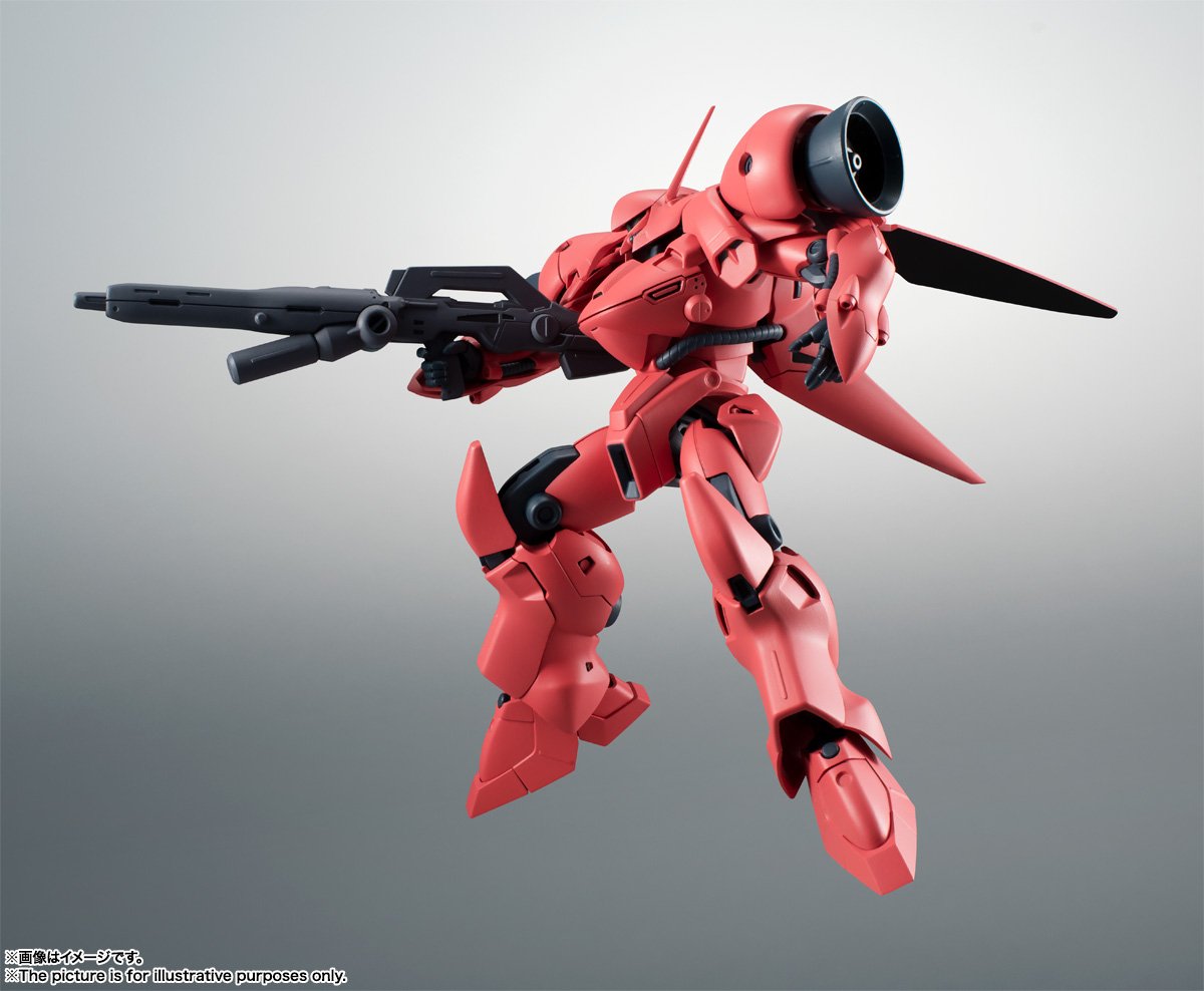ROBOT魂〈SIDE MS〉『AGX-04 ガーベラ・テトラ ver. A.N.I.M.E.』機動戦士ガンダム0083 可動フィギュア-003