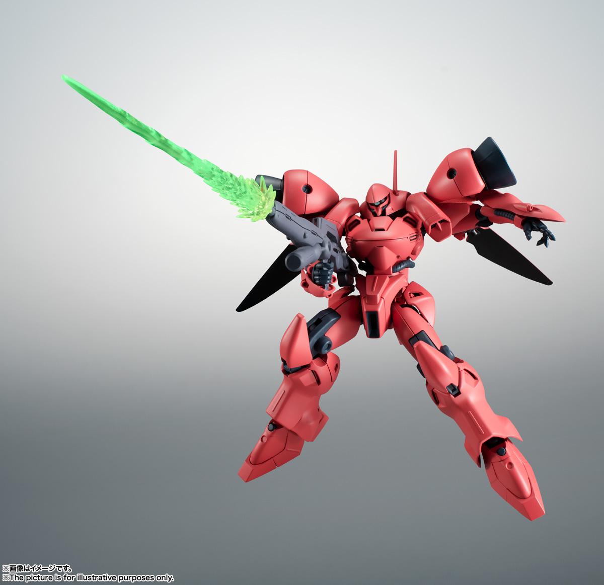 ROBOT魂〈SIDE MS〉『AGX-04 ガーベラ・テトラ ver. A.N.I.M.E.』機動戦士ガンダム0083 可動フィギュア-004