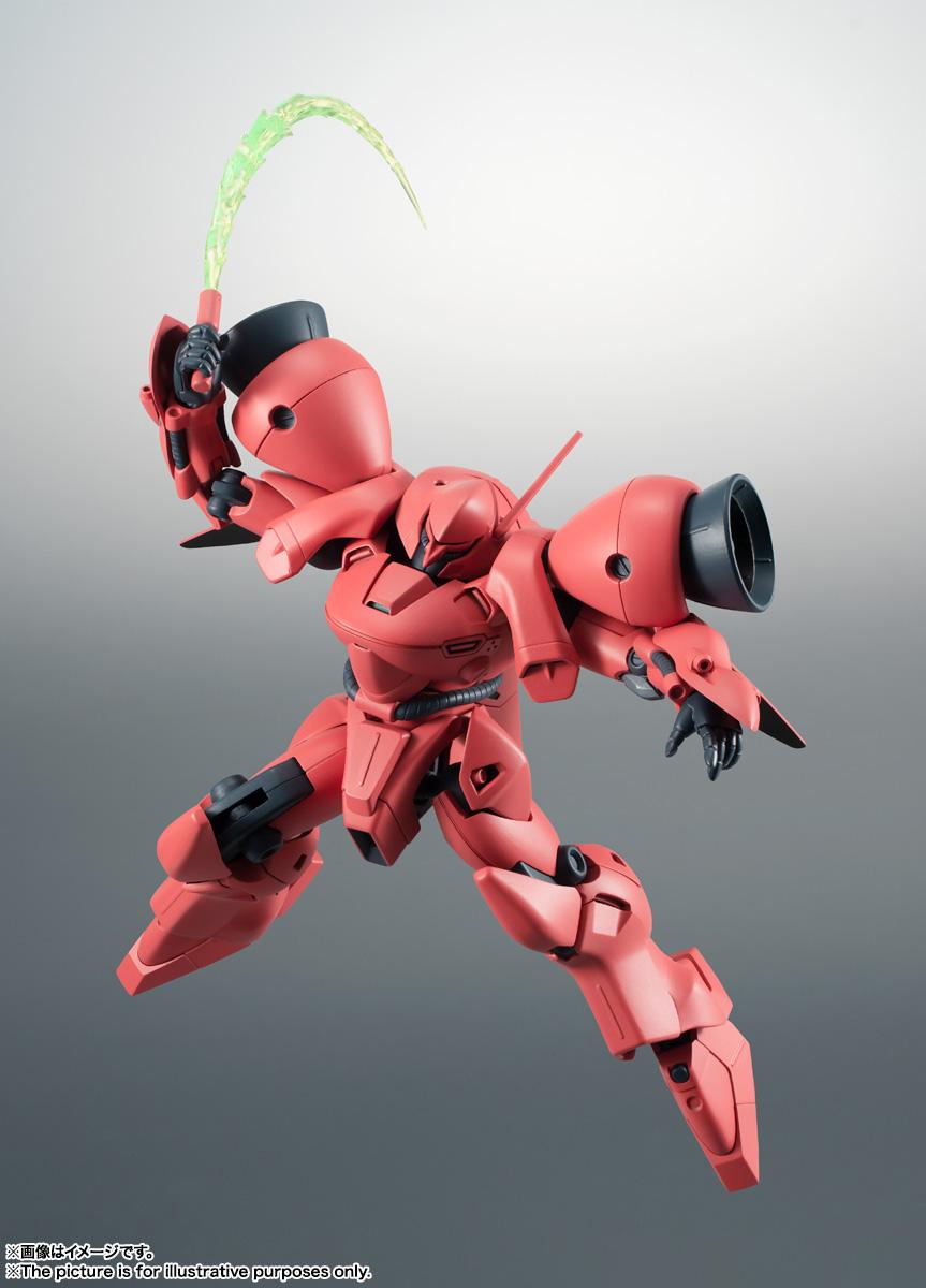 ROBOT魂〈SIDE MS〉『AGX-04 ガーベラ・テトラ ver. A.N.I.M.E.』機動戦士ガンダム0083 可動フィギュア-005