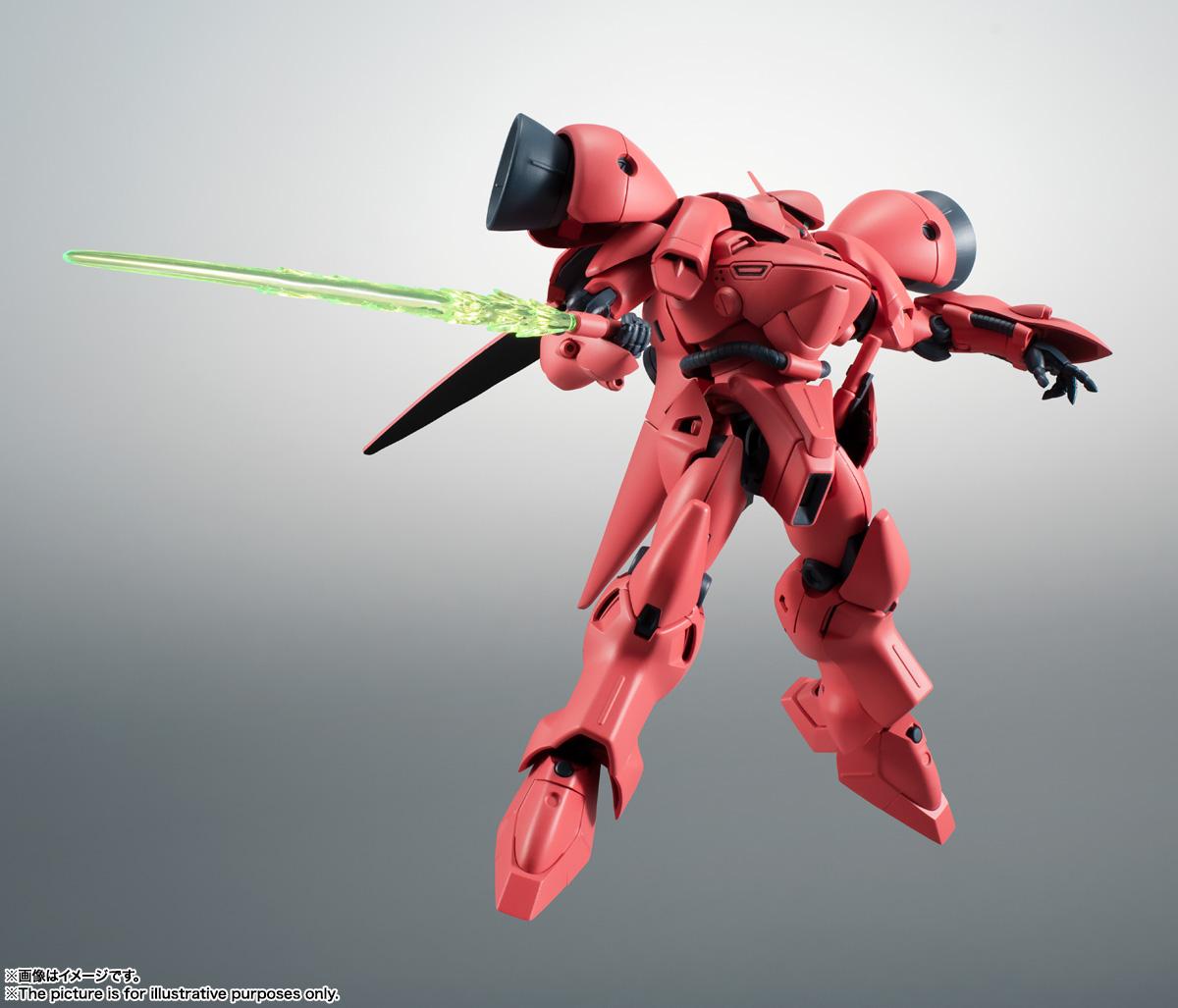 ROBOT魂〈SIDE MS〉『AGX-04 ガーベラ・テトラ ver. A.N.I.M.E.』機動戦士ガンダム0083 可動フィギュア-006