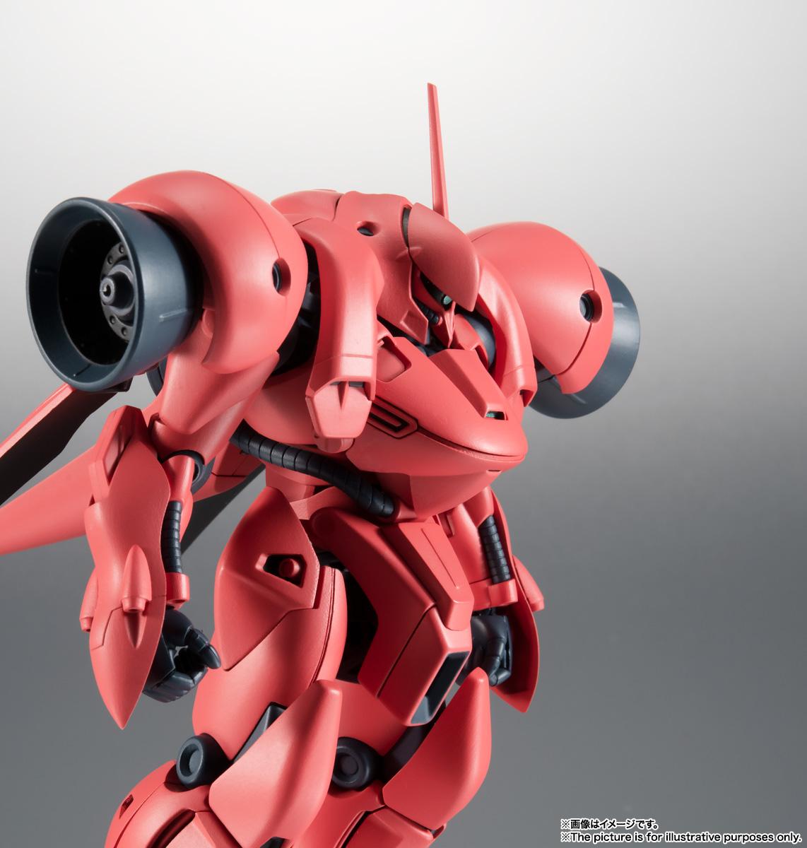 ROBOT魂〈SIDE MS〉『AGX-04 ガーベラ・テトラ ver. A.N.I.M.E.』機動戦士ガンダム0083 可動フィギュア-008