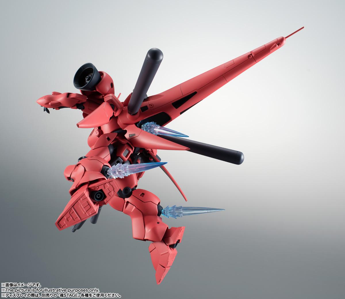 ROBOT魂〈SIDE MS〉『AGX-04 ガーベラ・テトラ ver. A.N.I.M.E.』機動戦士ガンダム0083 可動フィギュア-012