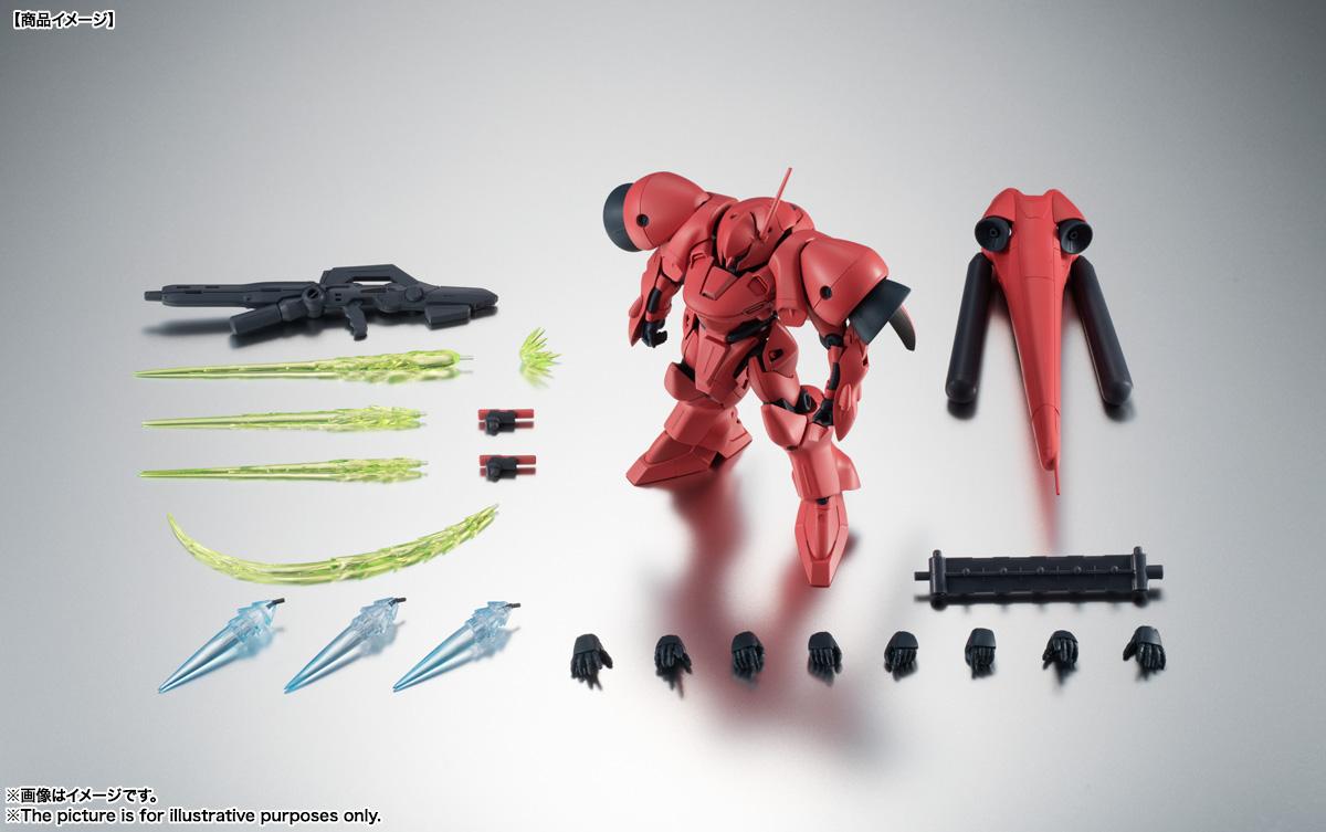 ROBOT魂〈SIDE MS〉『AGX-04 ガーベラ・テトラ ver. A.N.I.M.E.』機動戦士ガンダム0083 可動フィギュア-014