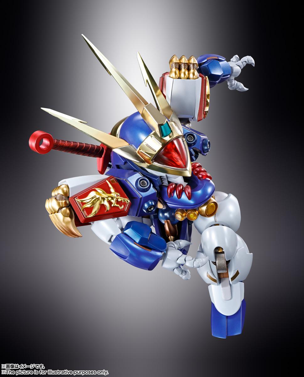 METAL BUILD『DRAGON SCALE 龍神丸』魔神英雄伝ワタル 可動フィギュア-008