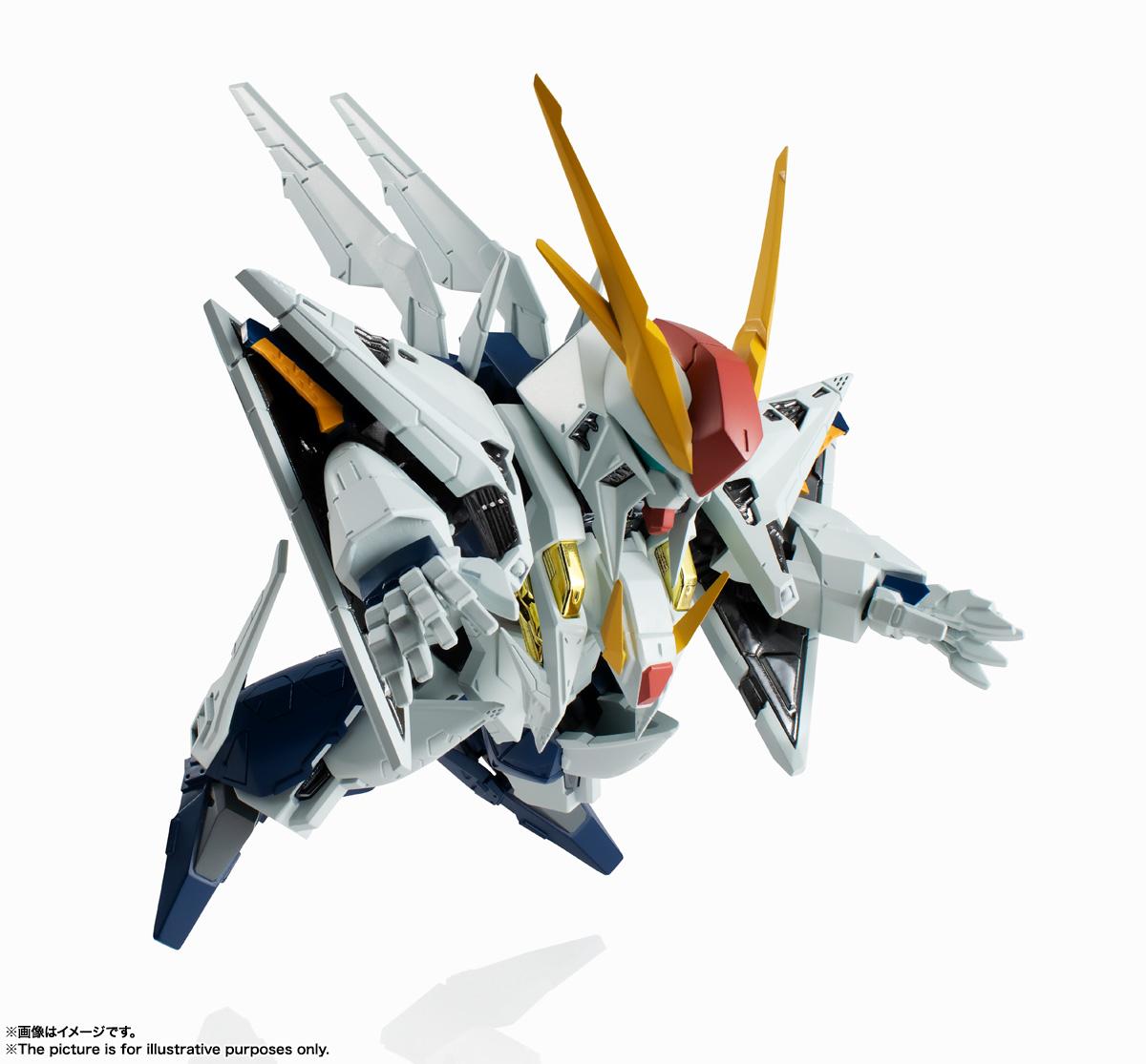 NXEDGE STYLE[MS UNIT]『Ξガンダム』機動戦士ガンダム 閃光のハサウェイ デフォルメ可動フィギュア-001