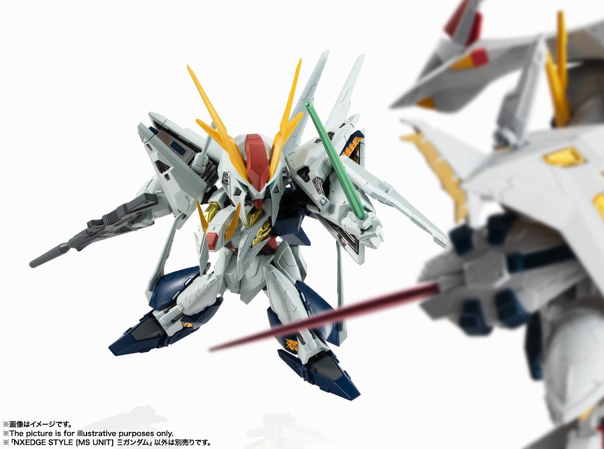 NXEDGE STYLE[MS UNIT]『Ξガンダム』機動戦士ガンダム 閃光のハサウェイ デフォルメ可動フィギュア-008