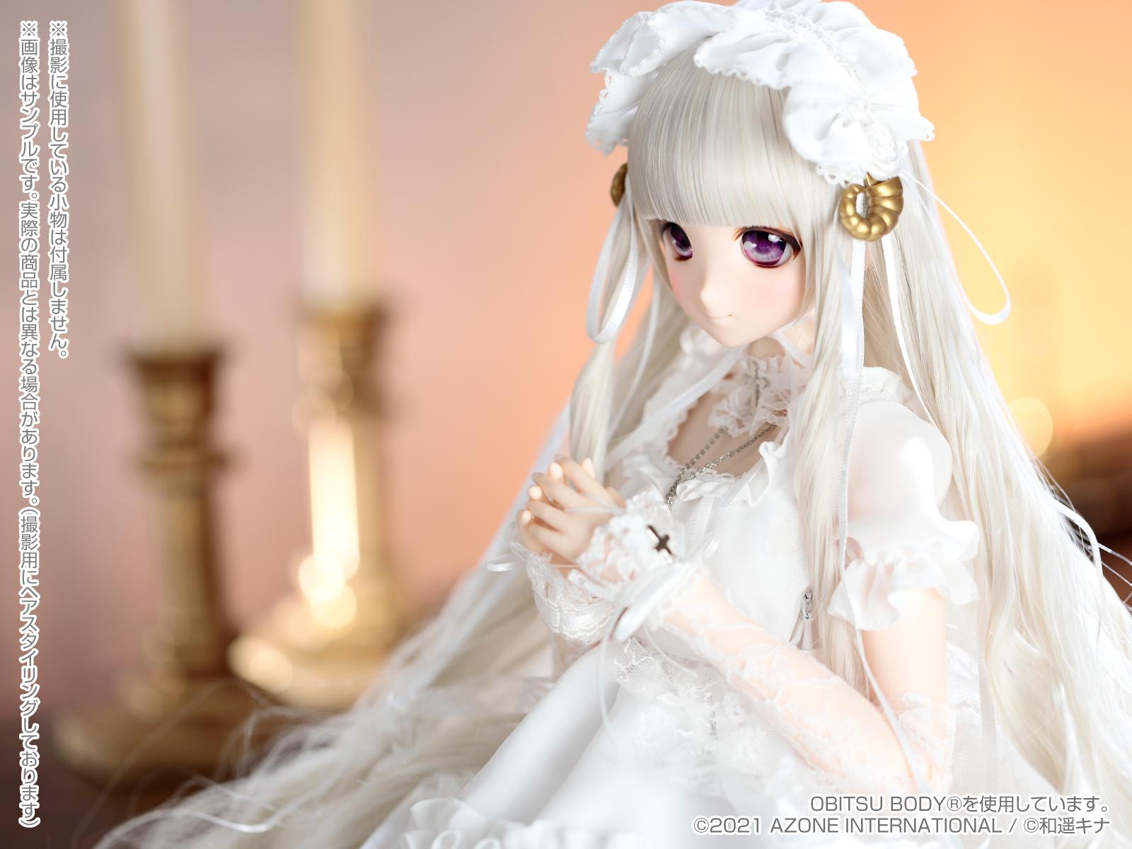 Iris Collect アイリス コレクト Kina's Fantasy Romances『ミレーネ ~ルミランジュ家の天使~』1/3 完成品ドール-005