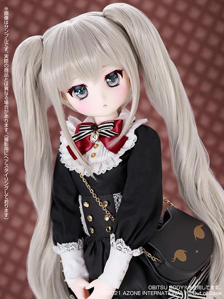 【再販】Iris Collect petit『すずね/~Wonder fraulein~Goth×Loli cats(通常販売ver.)』アイリスコレクト プチ 1/3 完成品ドール