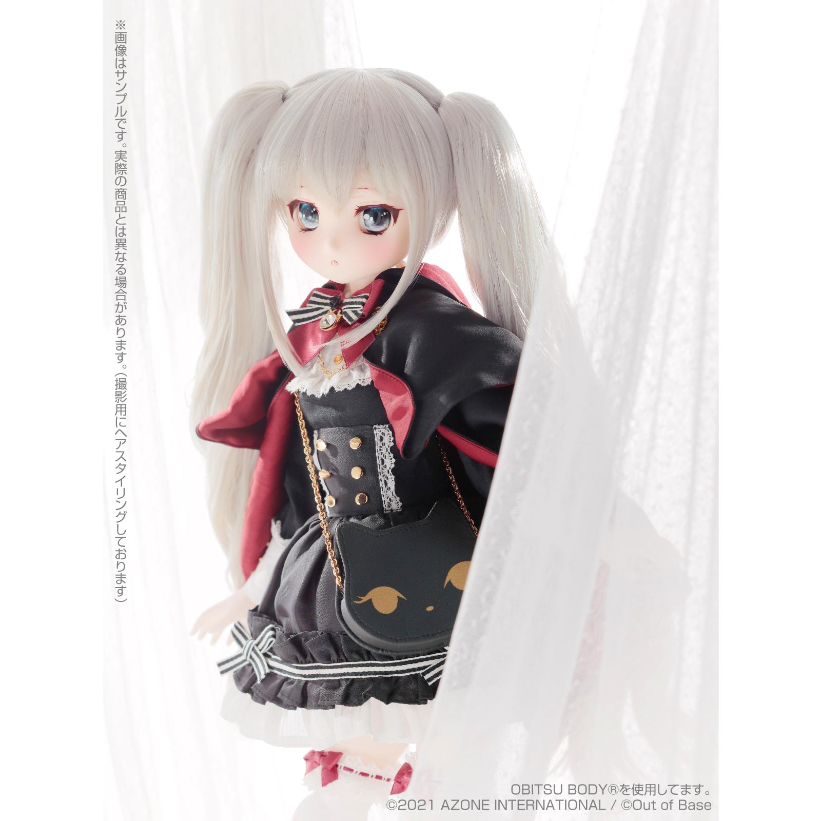 Iris Collect petit『すずね/~Wonder fraulein~Goth×Loli cats(通常販売ver.)』アイリスコレクト プチ 1/3 完成品ドール-002