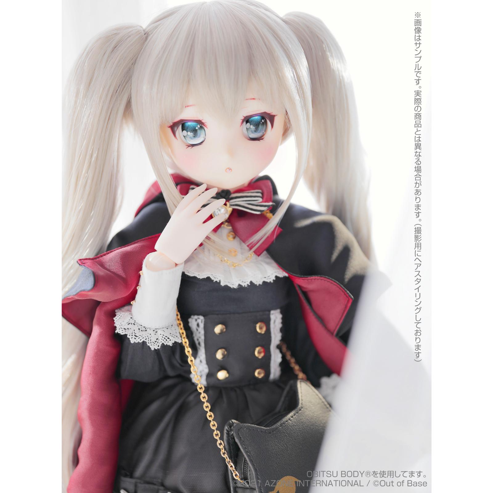 【再販】Iris Collect petit『すずね/~Wonder fraulein~Goth×Loli cats(通常販売ver.)』アイリスコレクト プチ 1/3 完成品ドール-003