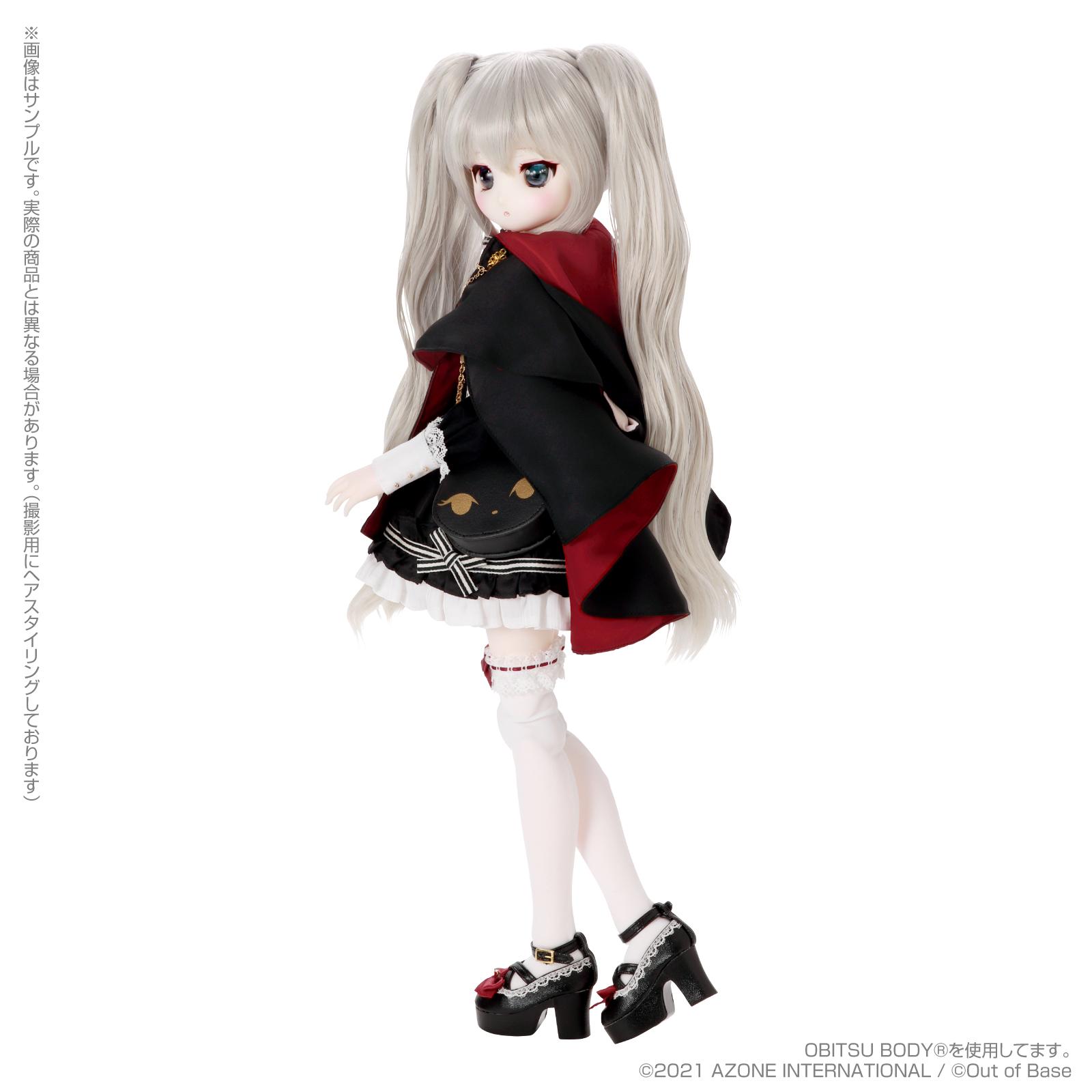 Iris Collect petit『すずね/~Wonder fraulein~Goth×Loli cats(通常販売ver.)』アイリスコレクト プチ 1/3 完成品ドール-005