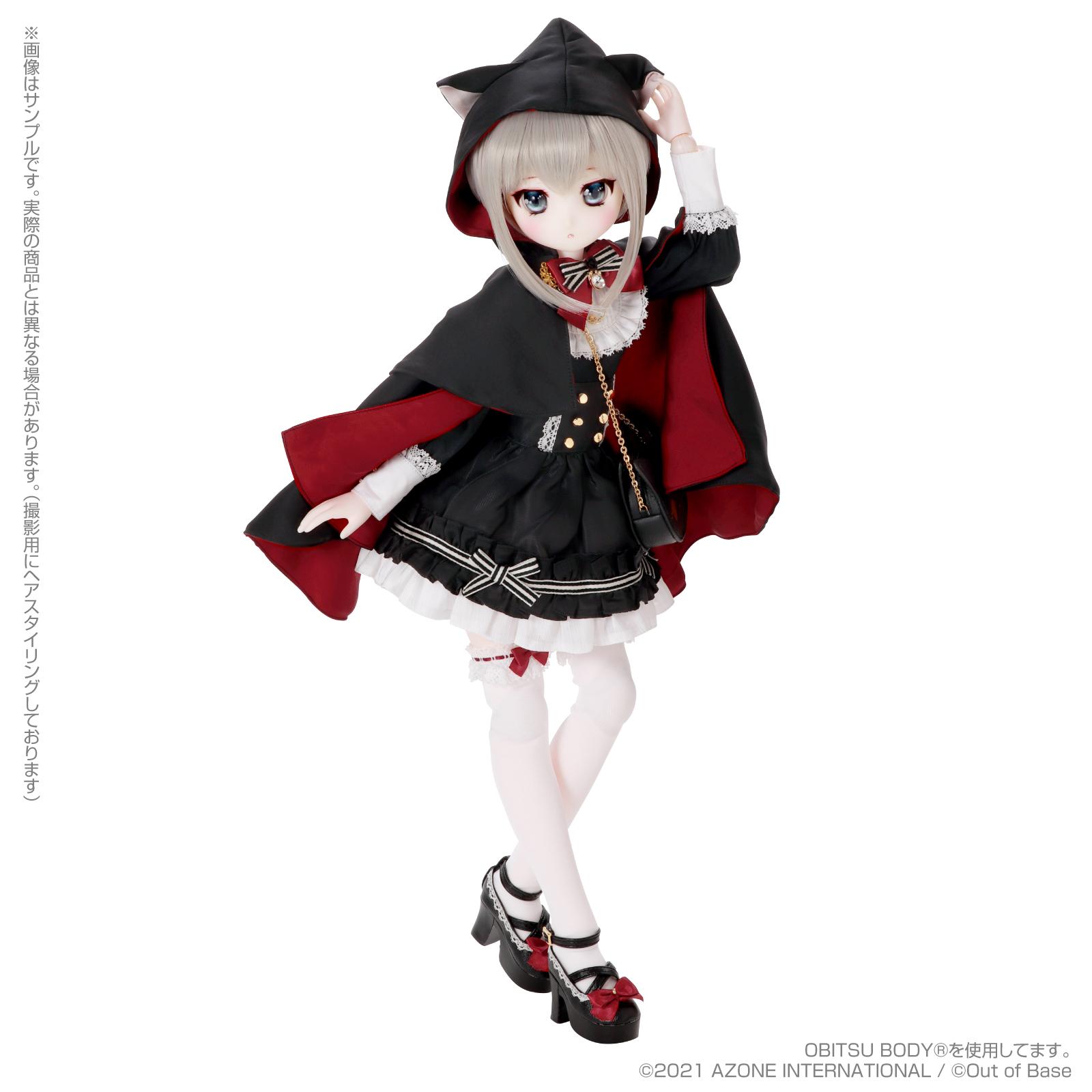 Iris Collect petit『すずね/~Wonder fraulein~Goth×Loli cats(通常販売ver.)』アイリスコレクト プチ 1/3 完成品ドール-006