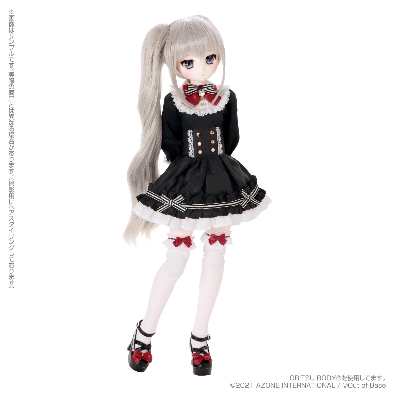 【再販】Iris Collect petit『すずね/~Wonder fraulein~Goth×Loli cats(通常販売ver.)』アイリスコレクト プチ 1/3 完成品ドール-008