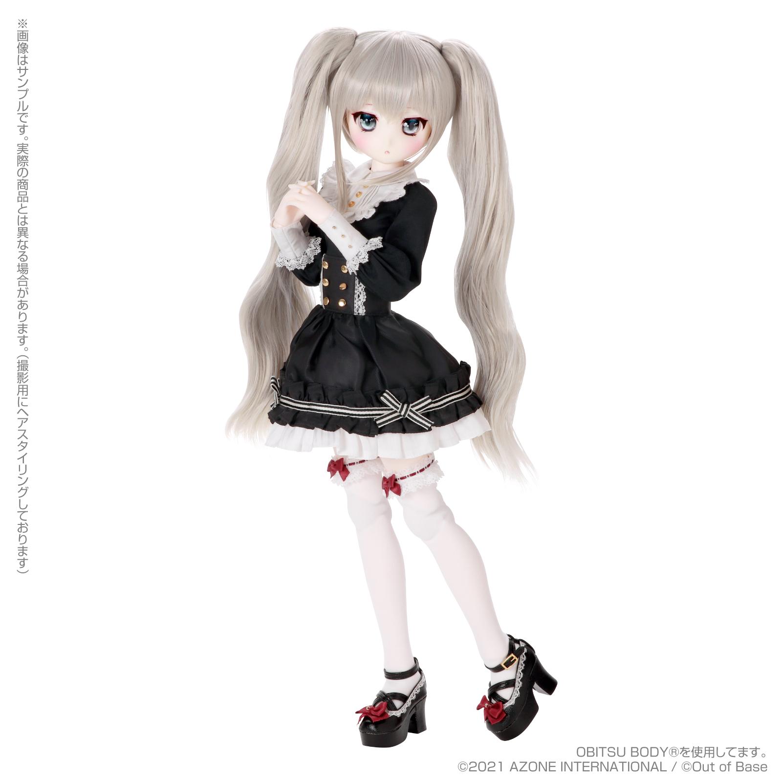 【再販】Iris Collect petit『すずね/~Wonder fraulein~Goth×Loli cats(通常販売ver.)』アイリスコレクト プチ 1/3 完成品ドール-009