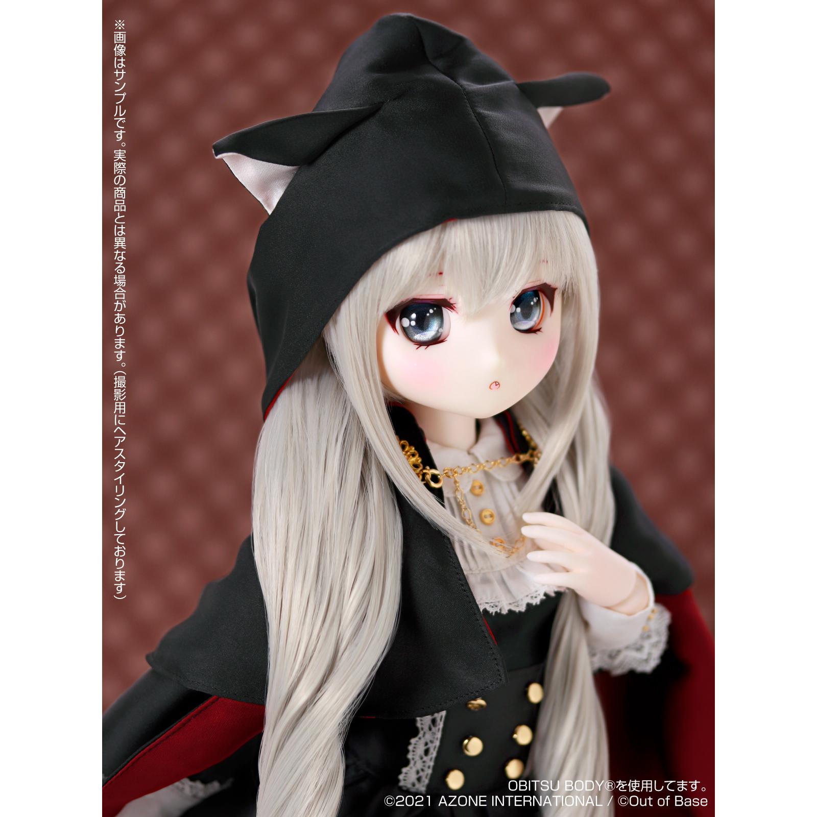 Iris Collect petit『すずね/~Wonder fraulein~Goth×Loli cats(通常販売ver.)』アイリスコレクト プチ 1/3 完成品ドール-011