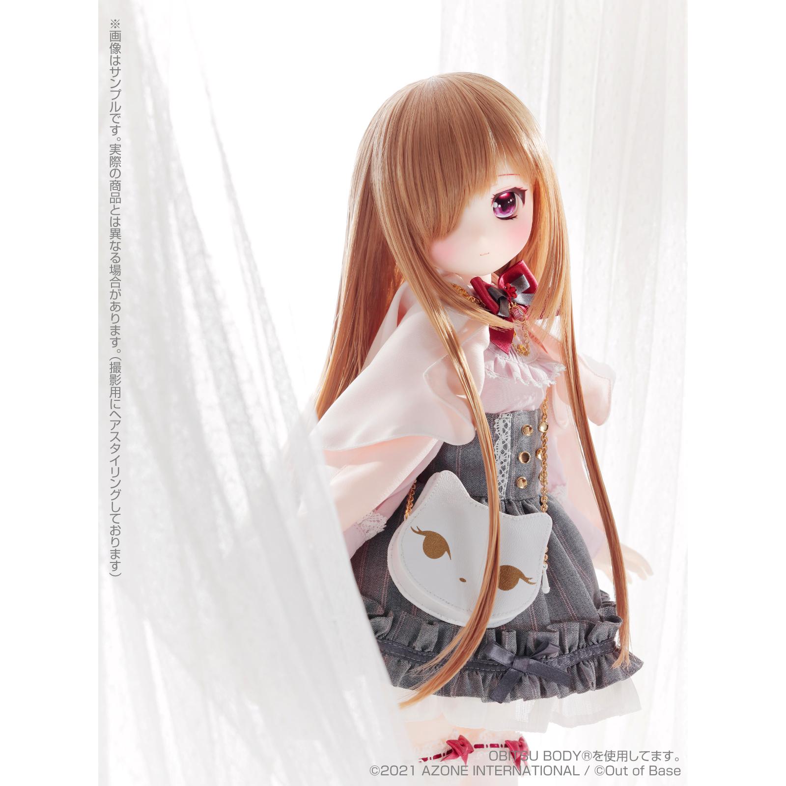 Iris Collect petit『すずね/~Wonder fraulein~Goth×Loli cats(通常販売ver.)』アイリスコレクト プチ 1/3 完成品ドール-012