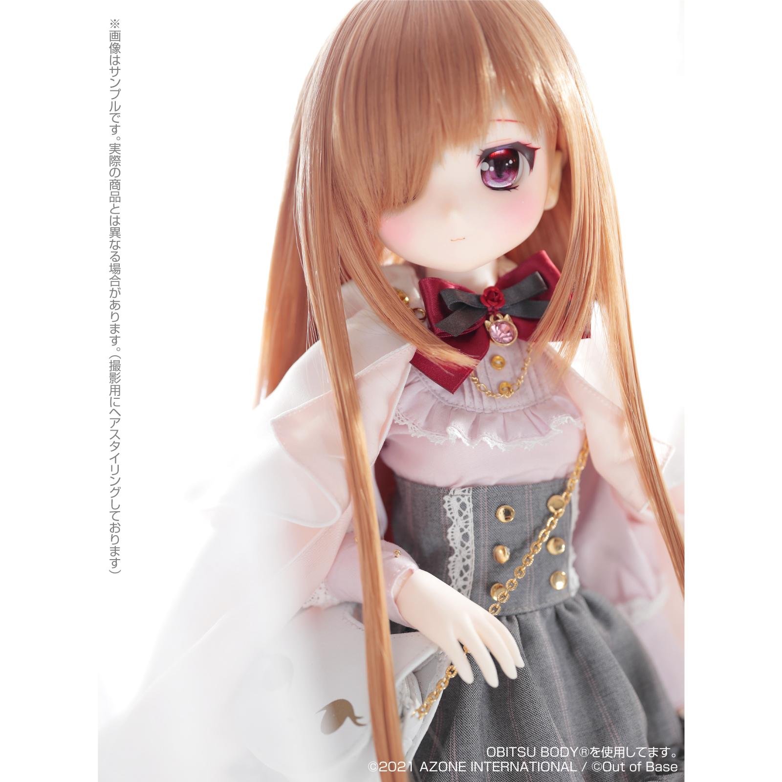 Iris Collect petit『すずね/~Wonder fraulein~Goth×Loli cats(通常販売ver.)』アイリスコレクト プチ 1/3 完成品ドール-013