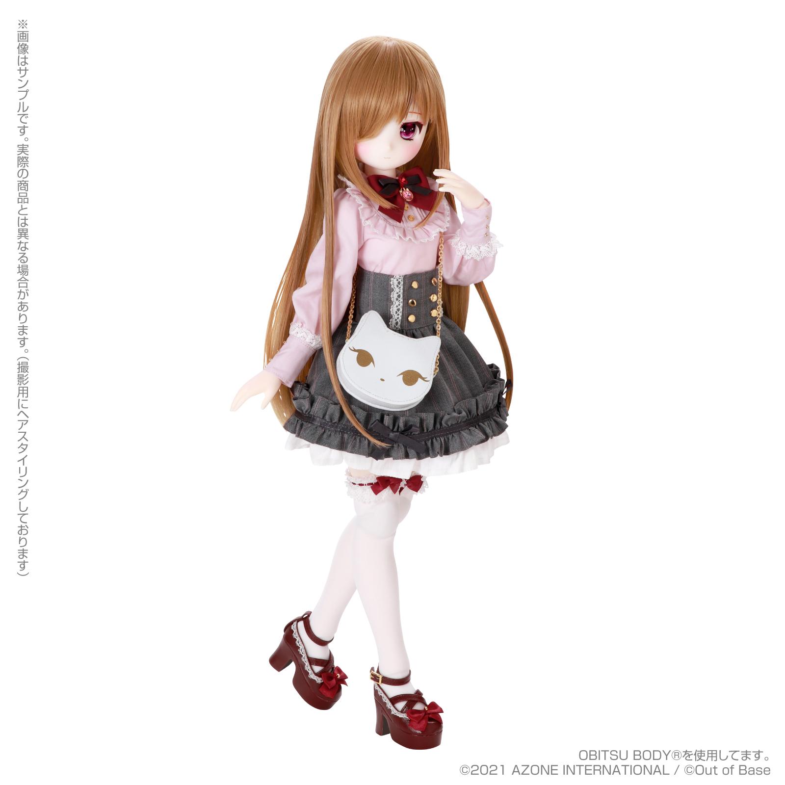 【再販】Iris Collect petit『すずね/~Wonder fraulein~Goth×Loli cats(通常販売ver.)』アイリスコレクト プチ 1/3 完成品ドール-017
