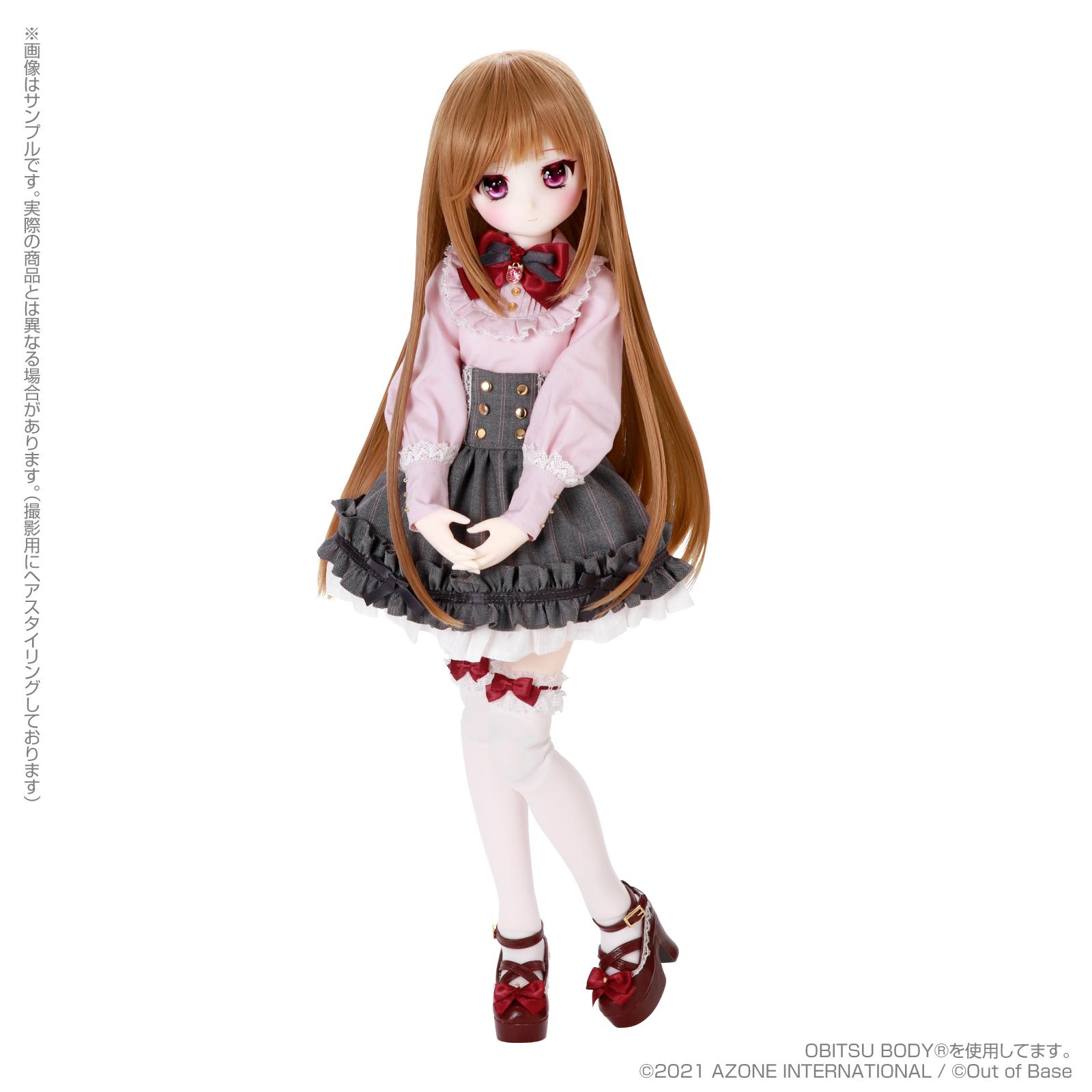 【再販】Iris Collect petit『すずね/~Wonder fraulein~Goth×Loli cats(通常販売ver.)』アイリスコレクト プチ 1/3 完成品ドール-018
