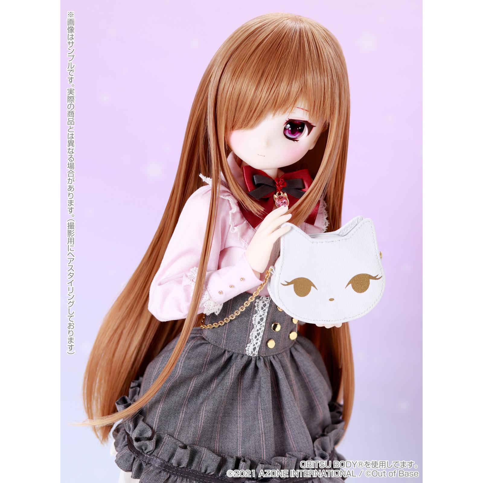 【再販】Iris Collect petit『すずね/~Wonder fraulein~Goth×Loli cats(通常販売ver.)』アイリスコレクト プチ 1/3 完成品ドール-020