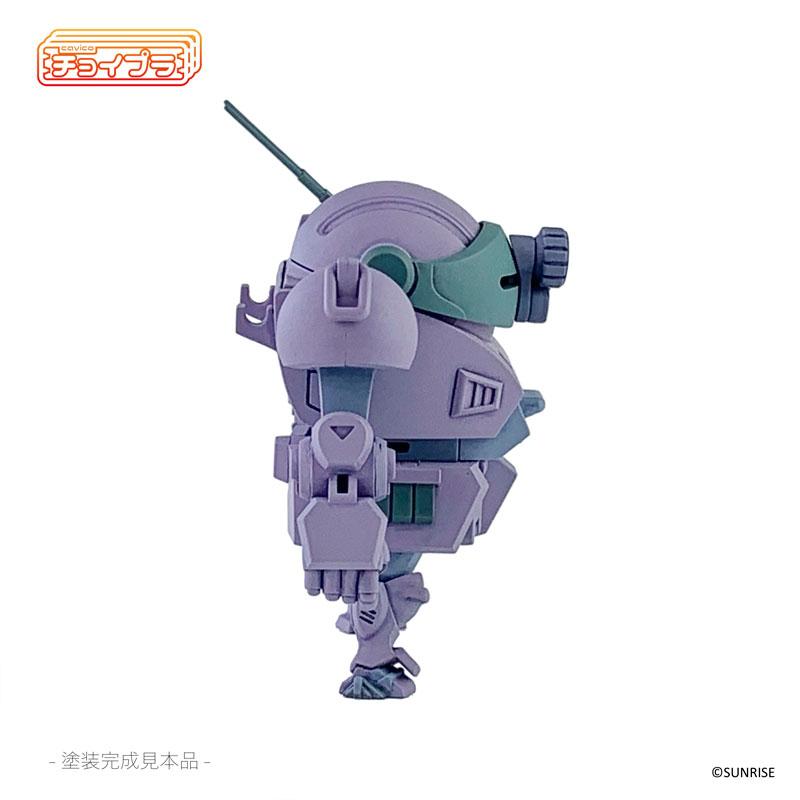 チョイプラ『装甲騎兵ボトムズ ATM-09-ST スコープドッグ メルキアカラー AT-10 パープル』プラモデル-007