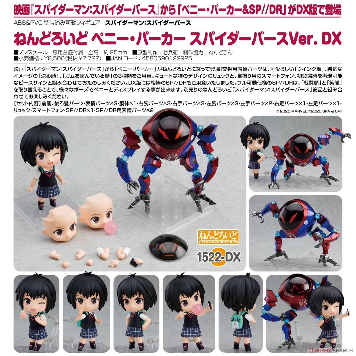 ねんどろいど『ピーター・パーカー スパイダーバースVer. DX』デフォルメ可動フィギュア-010