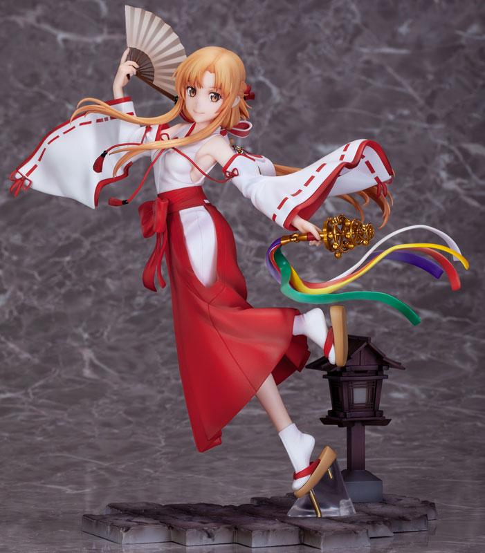 ソードアート・オンライン アリシゼーション War of Underworld『アスナ巫女 Ver.』1/7 完成品フィギュア-001