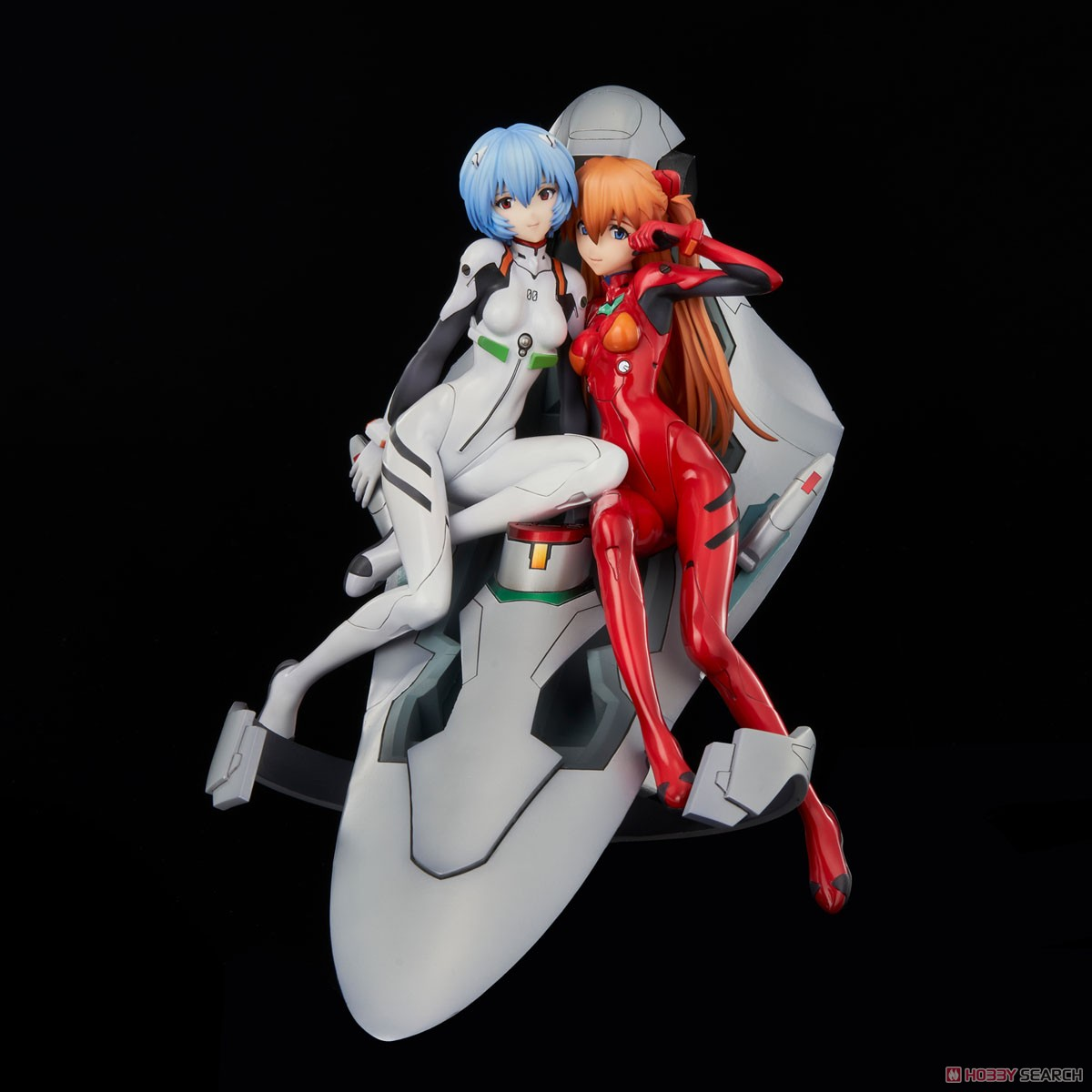 新世紀エヴァンゲリオン『レイ&アスカ ~twinmore Object~』完成品フィギュア-002
