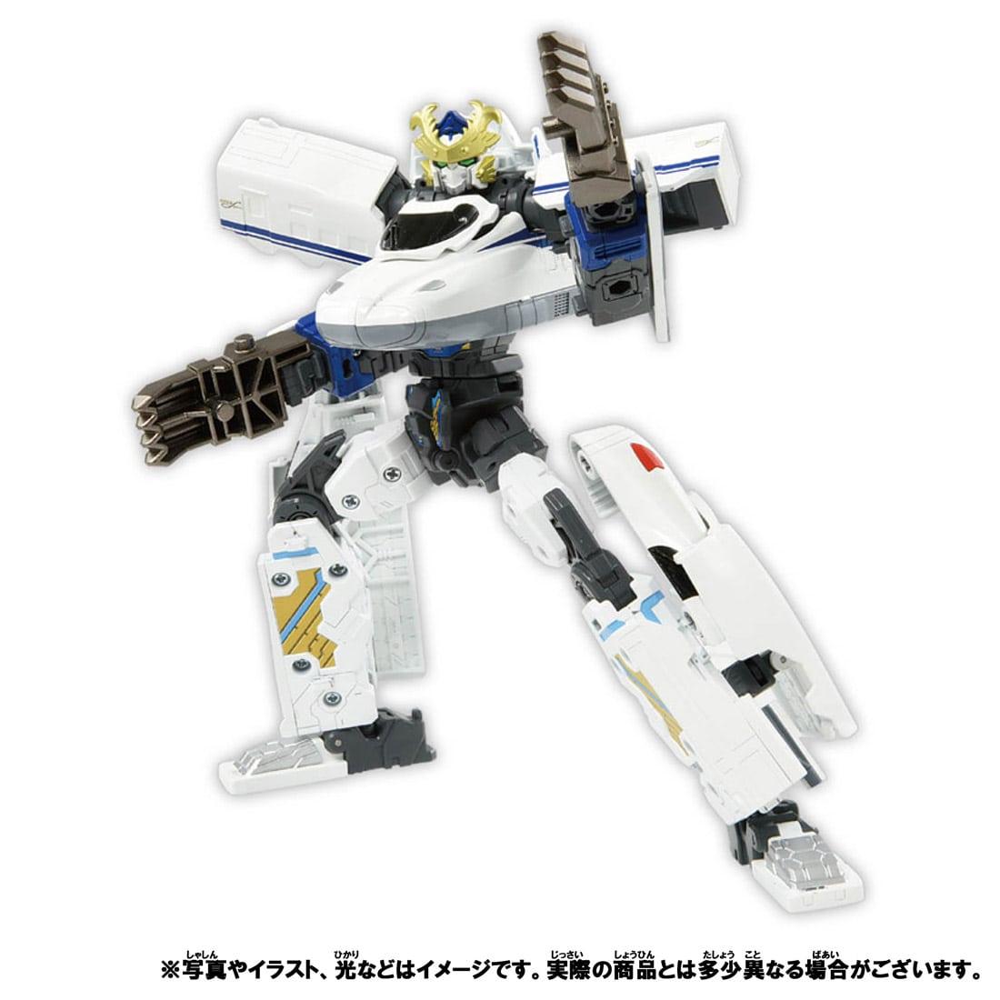 新幹線変形ロボ シンカリオンZ『シンカリオンZ N700Sヒダ』可変合体プラレール-008