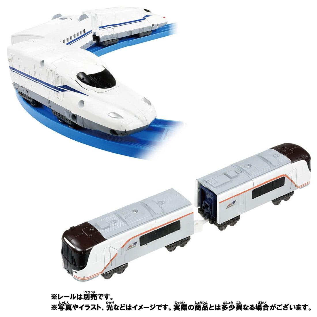 新幹線変形ロボ シンカリオンZ『シンカリオンZ N700Sヒダ』可変合体プラレール-009