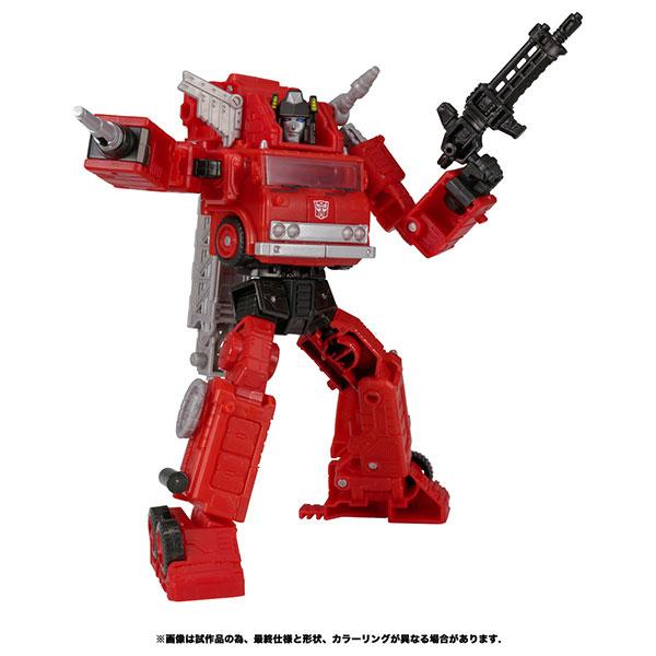 トランスフォーマー キングダム『KD-10 オートボットインフェルノ』可変可動フィギュア