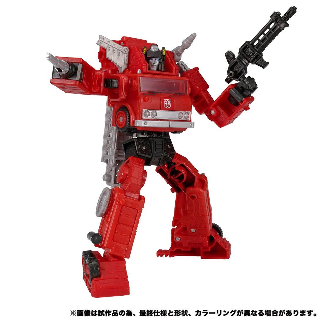 トランスフォーマー キングダム『KD-10 オートボットインフェルノ』可変可動フィギュア-004