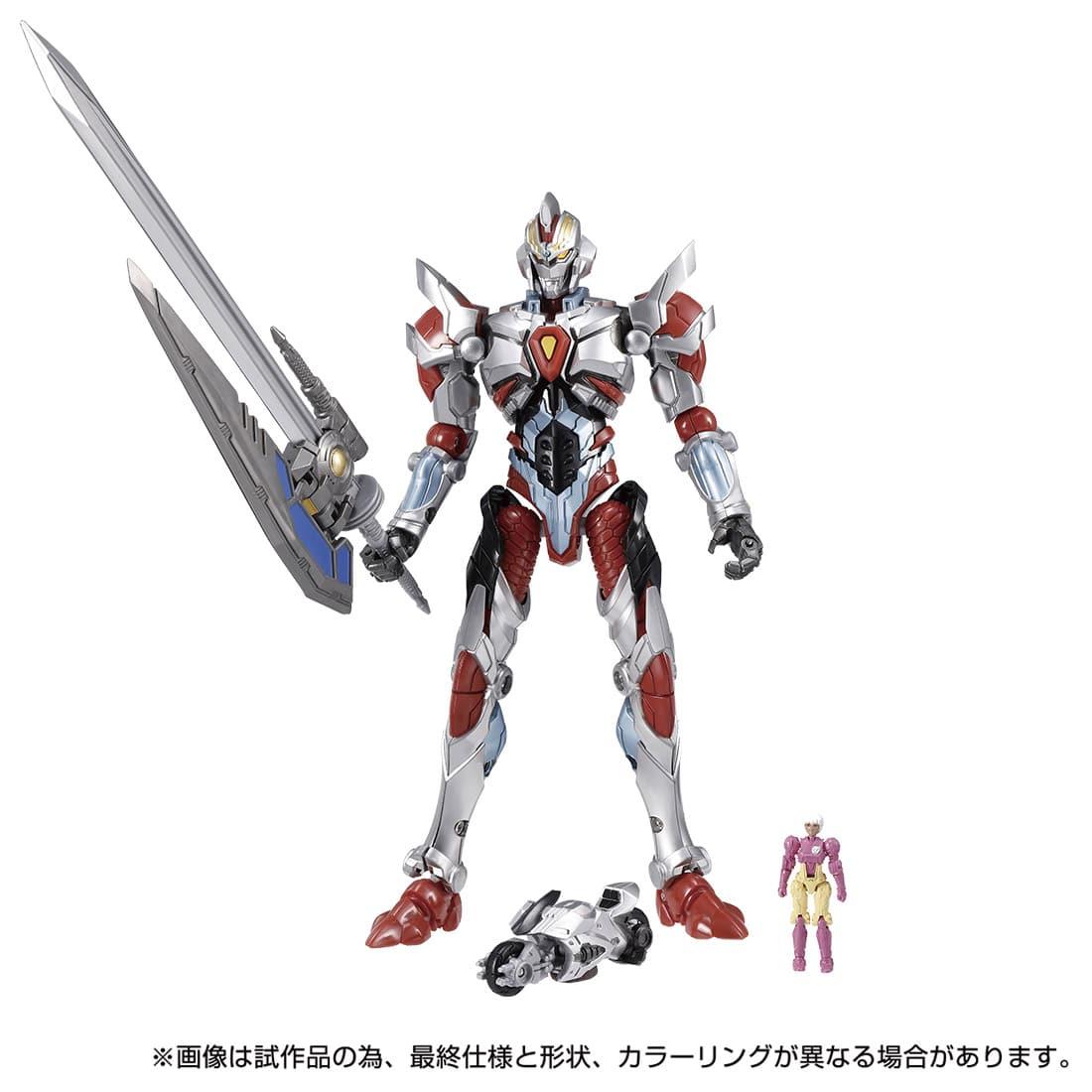 ダイアクロン / グリッドマンユニバース 02『ダイアクロンVS.グリッドマン Ver』可動フィギュア-001
