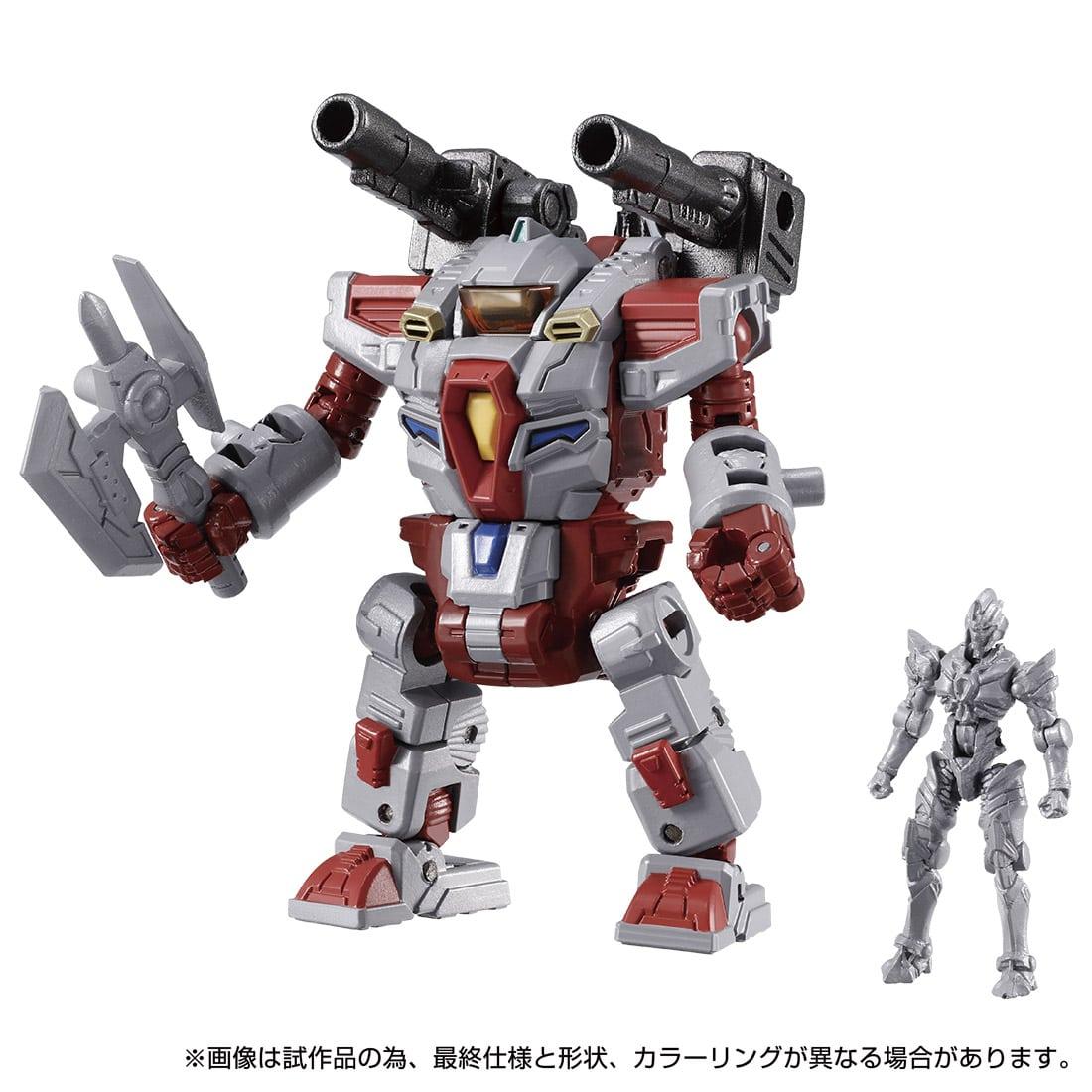 ダイアクロン / グリッドマンユニバース 02『ダイアクロンVS.グリッドマン Ver』可動フィギュア-009