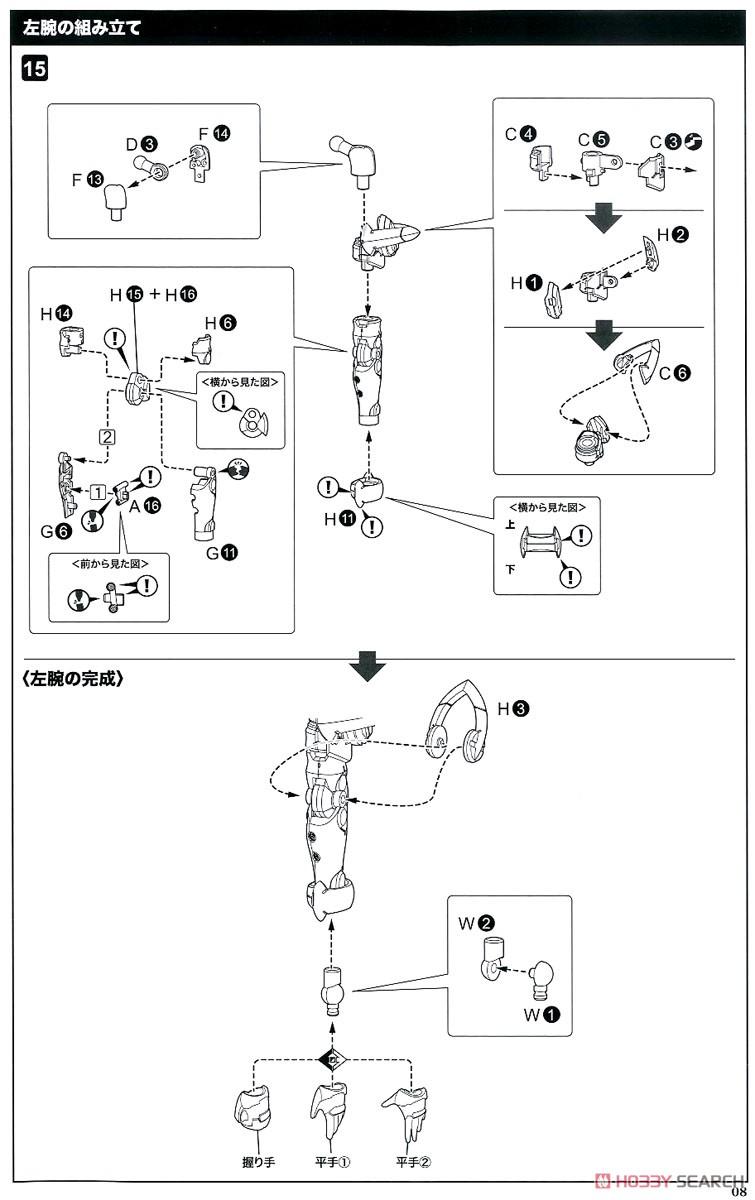 【再販】ファンタシースターオンライン2 es『ジェネ(ステライノセントVer.)』プラモデル-033