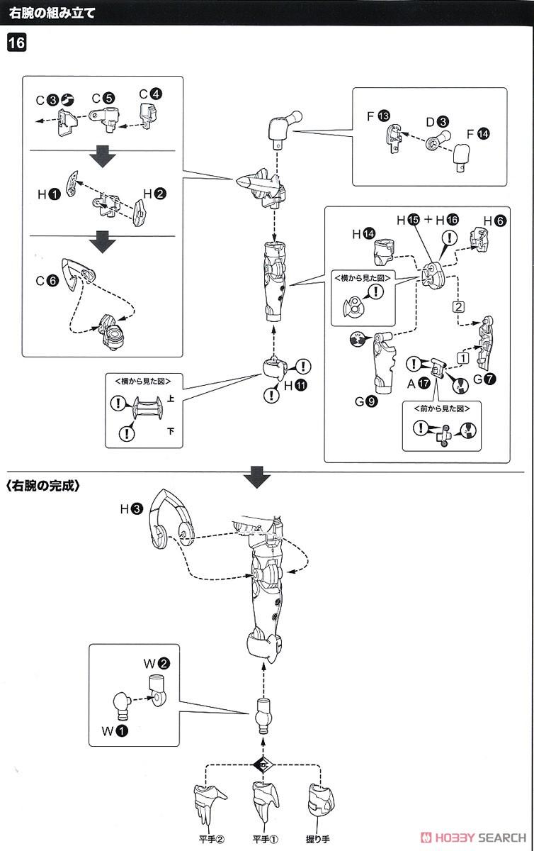 【再販】ファンタシースターオンライン2 es『ジェネ(ステライノセントVer.)』プラモデル-034