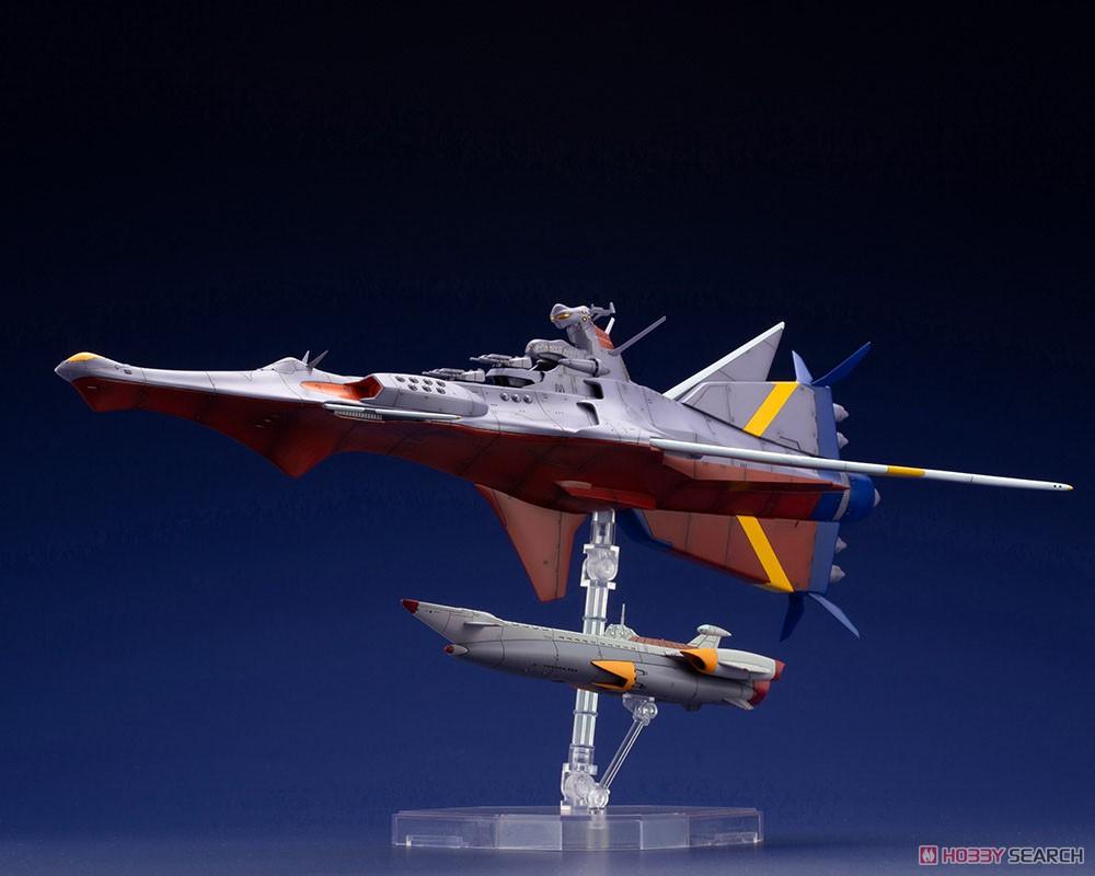 ふしぎの海のナディア『N-ノーチラス号 with ノーチラス号 DXセット』1/1000 プラモデル-003