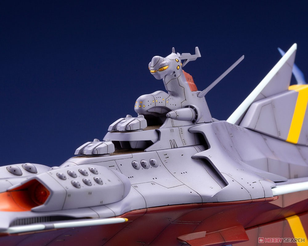 ふしぎの海のナディア『N-ノーチラス号 with ノーチラス号 DXセット』1/1000 プラモデル-009