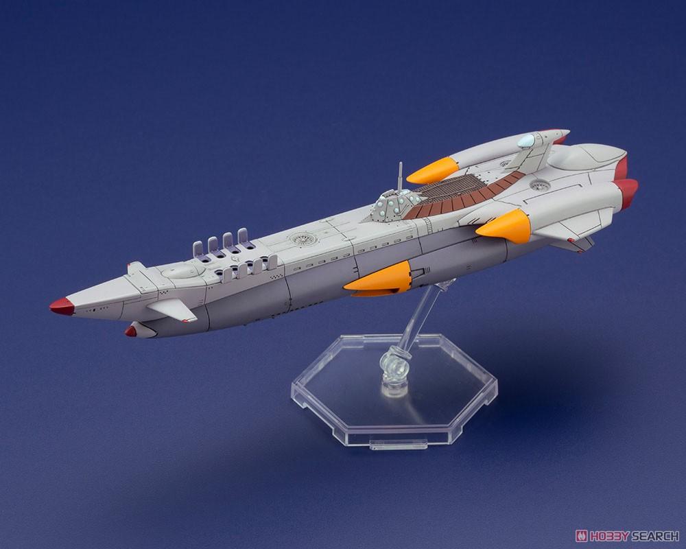 ふしぎの海のナディア『N-ノーチラス号 with ノーチラス号 DXセット』1/1000 プラモデル-014