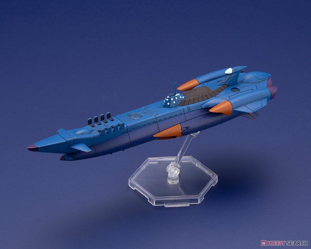 ふしぎの海のナディア『N-ノーチラス号 with ノーチラス号 DXセット』1/1000 プラモデル-025