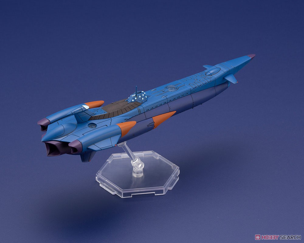 ふしぎの海のナディア『N-ノーチラス号 with ノーチラス号 DXセット』1/1000 プラモデル-026